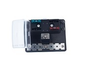 Fuse Block with Grounding pad, BLR-304-G